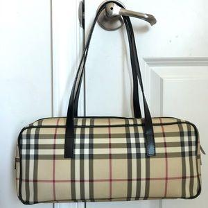 GUC Burberry nova check tote handbag